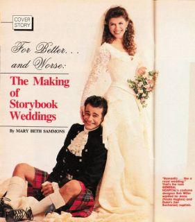 Soap Opera Digest November 3 1987 Lauralee Bell Robin Strasser TV