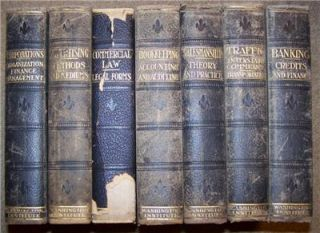 Volume Set International Business Library 1914