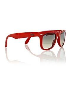 195d6a55f1e0 ... Rayban Unisex RB4105 Folding Wayfarer 50 Sunglasses House of Fraser ...