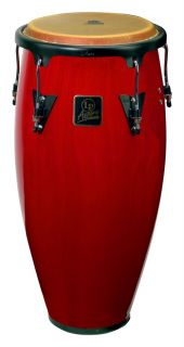 LP Latin Percussion Aspire 12 Wood Tumbadora Conga Red Wood