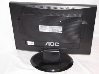 AOC 19 LCD Flat Panel Monitor with Speakers 919SWA1