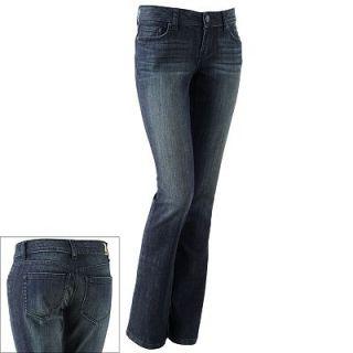 NWT LC Lauren Conrad Slim Fit Boot Cut Stretch Denim Jeans