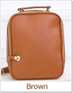 Square Leather Backpacks Shoulder Tote Bags   Handbags for Womens and