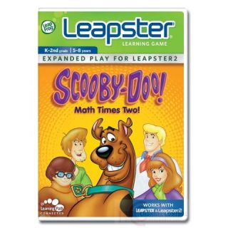 LeapFrog Leapster Learning Game Scooby Doo Math Times