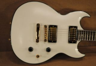 New Samick Torino TR 4 Electric Guitar in Pearl White Finish