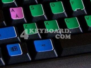 Learning English UK Colored PC Keyboard Sticker