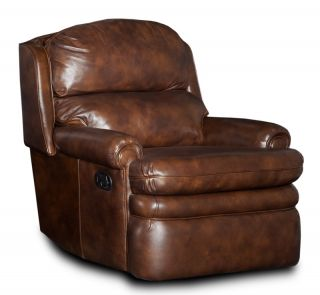 Brown Leather Recliner Arm Chair RC163 089