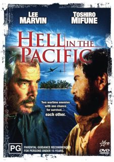 Hell in The Pacific Lee Marvin New SEALED DVD