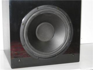 Legacy Audio Foundation Passive Subwoofer 2 Twin Dual 12 Speakers Sub