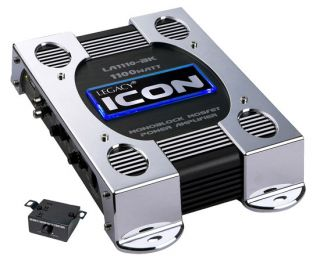 Legacy LA1110BK 1100 Watt Mono Block Class D Amplifier Black Car Audio