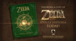 LEGEND ZELDA HYRULE HISTORIA HC LTD COLL ED LIMITED TO 500 COPIES (Pre