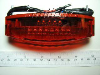 Motorcycle LED Brake Tail Stop Light Dual Sport ATV