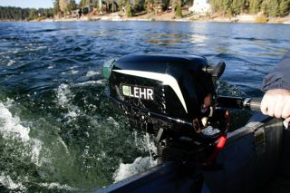Lehr LP2 5S Propane Powered Outboard Boat Motor 2 5 HP Short Shaft New