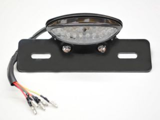 New Custom Motorcycle LED Brake Tail Light with Turn Signals Blinkers