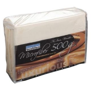Leggett Platt Home Textiles QH0374 Flat Fitted Twin Extra Long Pillow