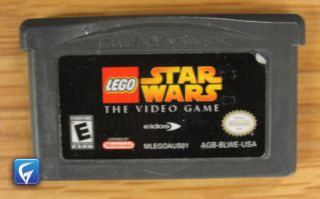 Game Boy Advance Lego Star Wars The Video Game Game Cartridge Only