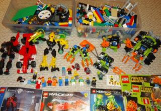 Lego Power Miners Lot Claw Digger Granite Grinder Miner Mech More