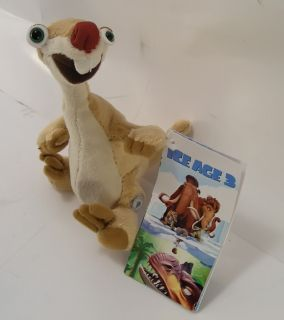 Ice Age 3 Dawn Dinosaurs Sid Plush Cute 6 New 100