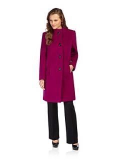 Precis Petite Cyclamen funnel neck coat Pink