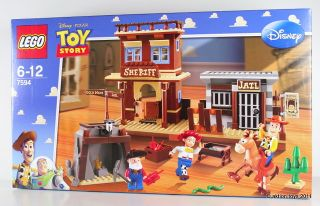 Lego Toy Story 2 Woodys Roundup Big Set 7594 New 5702014731752