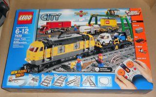 Lego City Set 7939 Cargo Train Brand New SEALED Hard Find Free SHIP