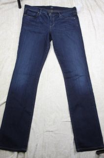 Citizens of Humanity Ava Straight Leg Stretch Jeans Faith Wash Size 32