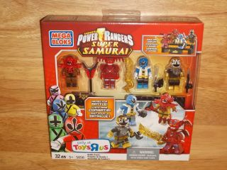 Mega Bloks 5858 Power Rangers Super Samurai Battle Pack I 1 Limited Ed