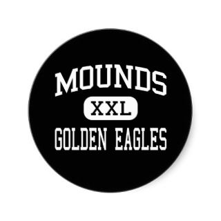 Mounds   Golden Eagles   High   Mounds Oklahoma Stickers