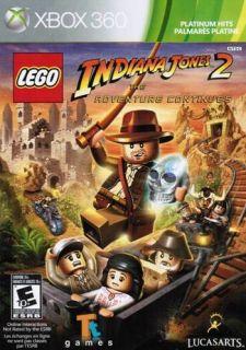 Lego Indiana Jones 2 The Adventure Continues   Crystal Skull XBOX 360