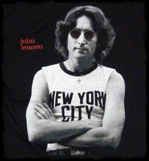 John Lennon New York City T Shirt Official Fast SHIP