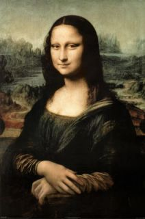 Leonardo Da Vinci Mona Lisa Art Poster Print DaVinci