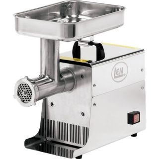Lem Products 12 75HP Stainless Steel Electric Meat Grinder