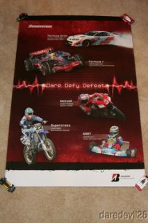 2008 Lewis Hamilton Casey Stoner Chad Reed Bridgstone Formula 1 Moto