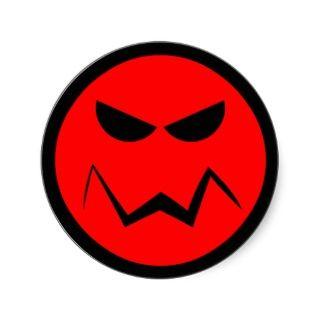 Mean Miser Smiley Face Sicker
