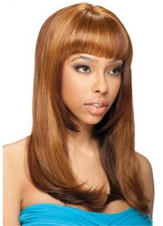 Model Model Braided Lace Front Wig Leona