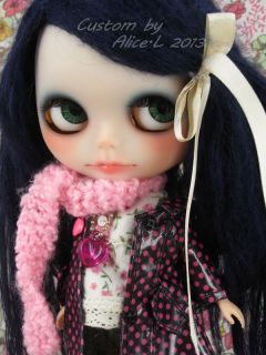 OOAK Custom Takara Blythe Art Doll by Alice Leung