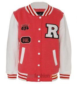 New Ladies Letterman R Varsity Baseball Bomber College Jacket UK 8 10