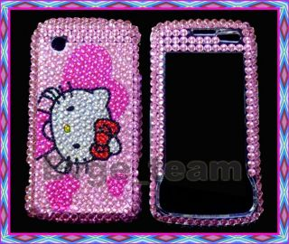 Hello Kitty Bling Case Cover LG Chocolate Touch 8575 C