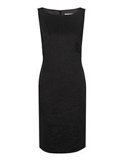 Planet Black linen shift dress Black