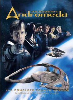 Andromeda The Complete Fourth Season 4th New DVD