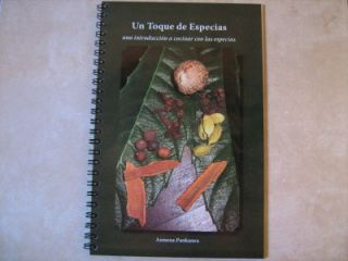 Un Toque de Especias Spanish Especias Libro de Cocina
