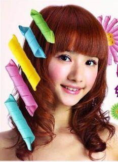 18pcs large salon hair curlers leverag curlformers DIY party magic