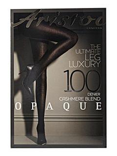 Aristoc Cashmere blend tights Black