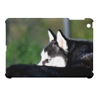 Husky dog ipad Mini Case