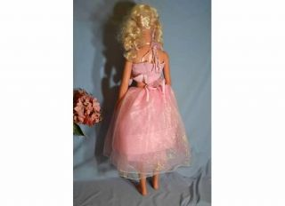 1992 My Life Size 37 Barbie Doll with Pink Dress