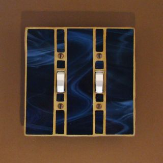 Handmade USA Light Switch Cover Switch Plate Double Toggle Switchplate