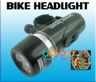 LED Beam LED Bicycle Bike Headlight Light Flashlight