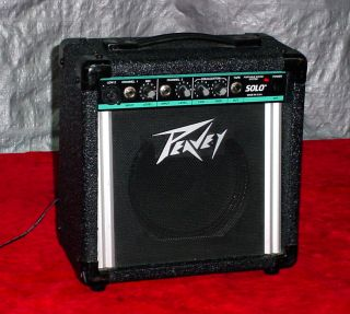 Peavey Portable Sound System Solo Amplifier Amp Great Item