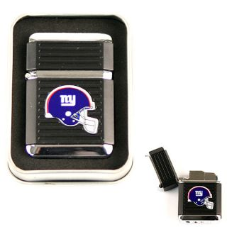 New York Giants Flip Lighter Cigarette Cigar Butane Light NFL in Gift