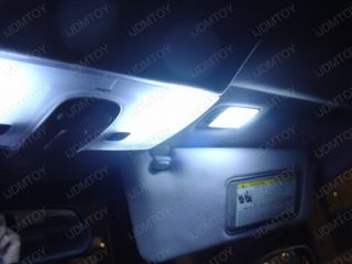 Blue 5 Lights SMD LED Interior Pkg Cadillac cts 03 07 S